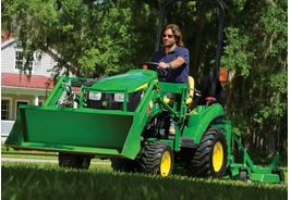 John Deere Compact Tractors for home owners