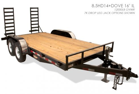 HDIL Industrial Line Flatbed Trailer Features