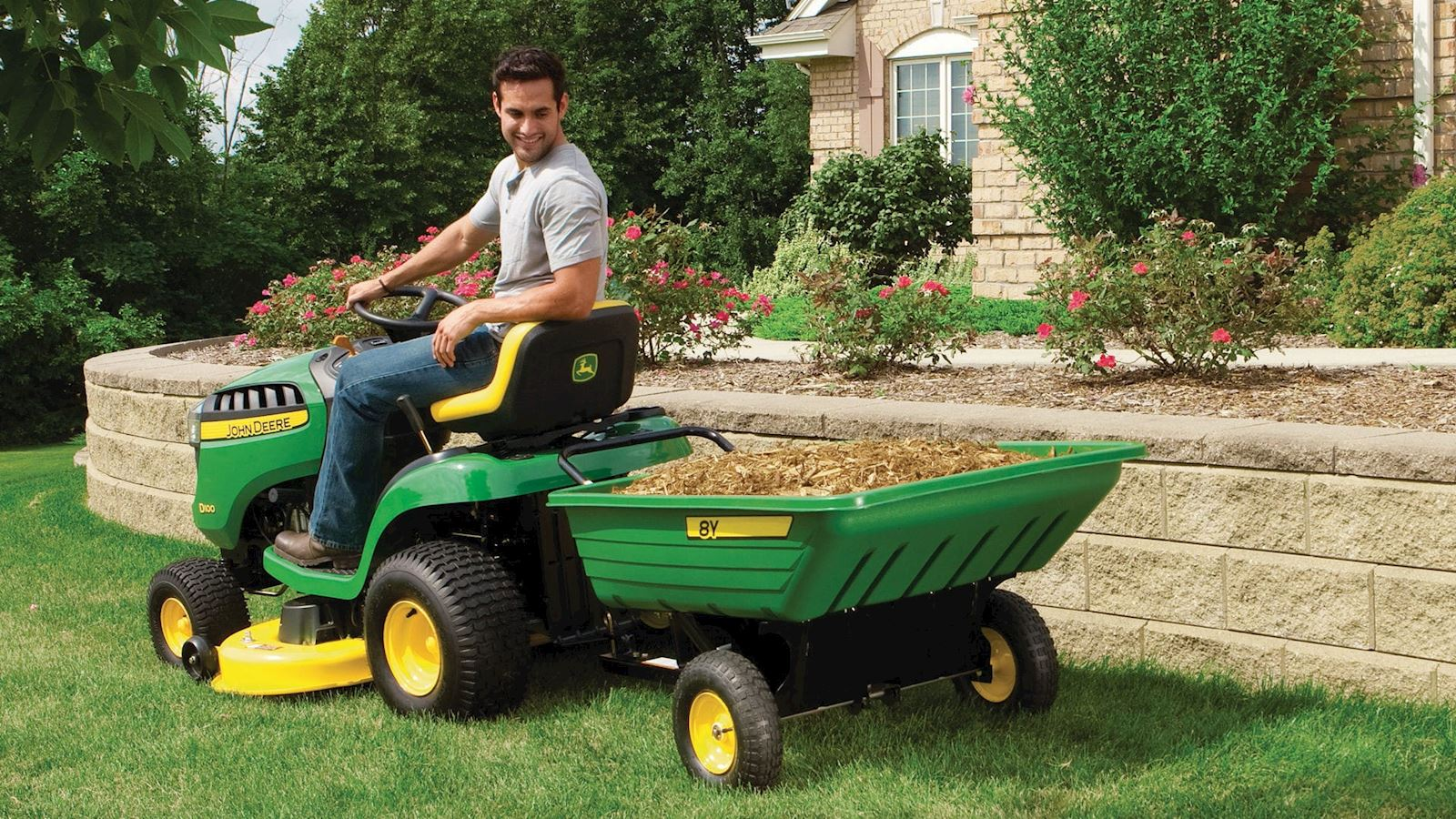 Our 5 Favorite Riding Lawn Mower Implements for Summer Lawn Care