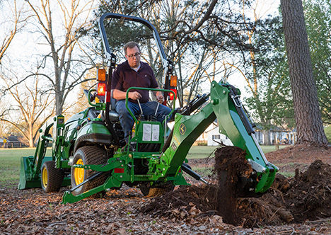 New Backhoe and Loader Now Available From John Deere on Compact Tractor Lines