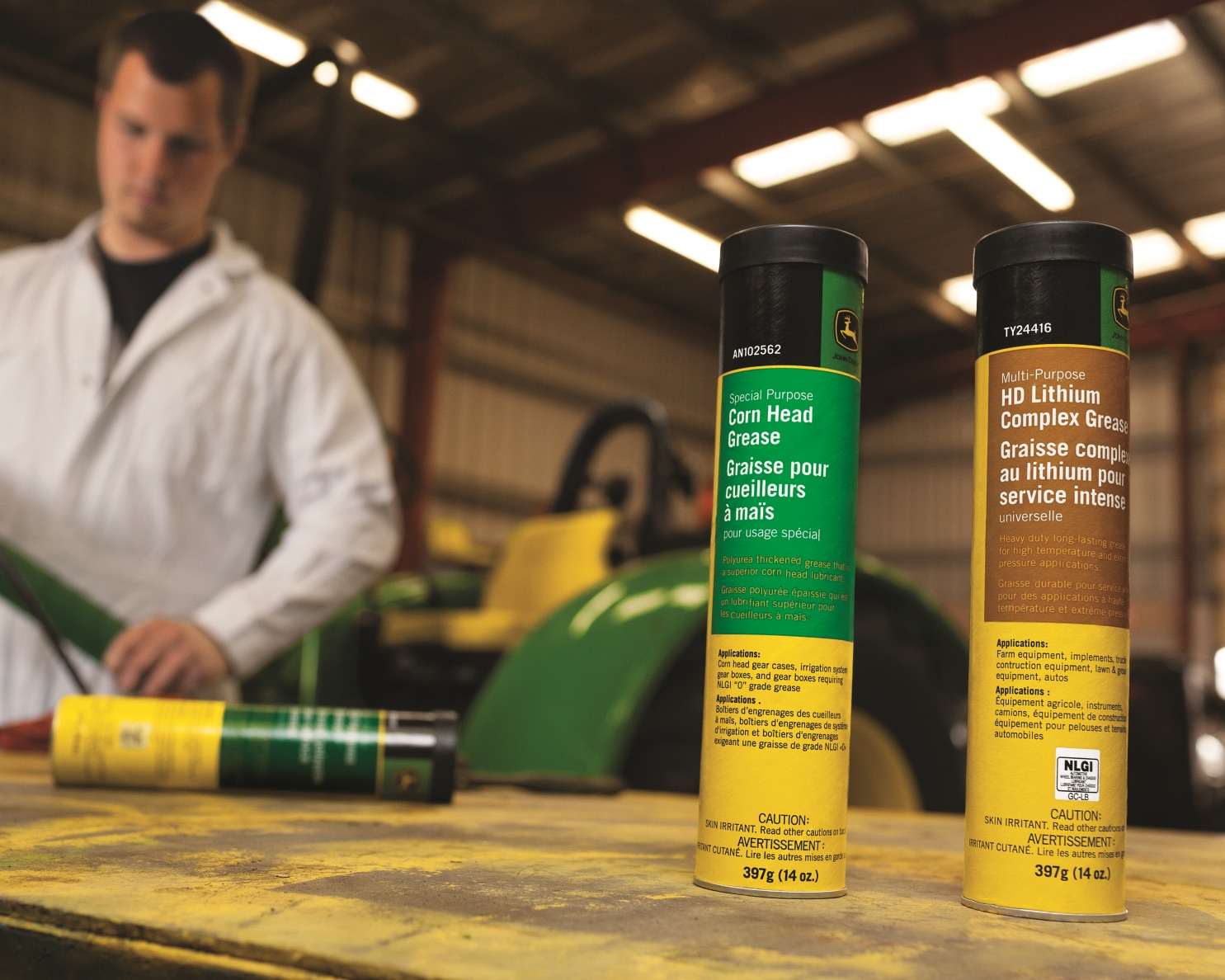 Book service for your John Deere tractor or mower at Tri County in MI