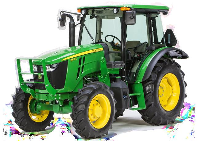 5100E Utility Tractor - New 5 Series Utility Tractors (45