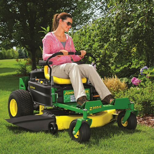 Riding lawn mowers from John Deere for sale